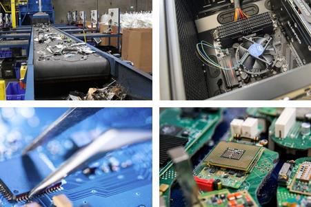 废旧电子产品回收公司的-「收购电子料」